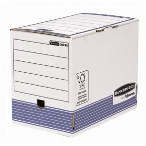 """Archiváló doboz, 200 mm, """"BANKERS BOX® SYSTEM by FELLOWES®"""", kék"""