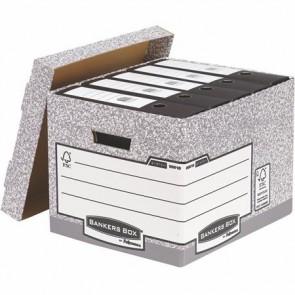 "Archiváló konténer, karton, standard, ""BANKERS BOX® SYSTEM by FELLOWES®"""