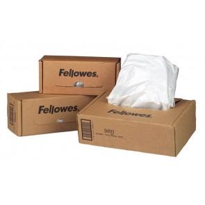 Hulladékgyűjtő zsák iratmegsemmisítőhöz, 50-75 literes kapacitásig, FELLOWES