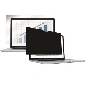 """Monitorszűrő, betekintésvédelemmel, 292x165 mm, 13,3"""", 16:9 FELLOWES PrivaScreen™, fekete"""