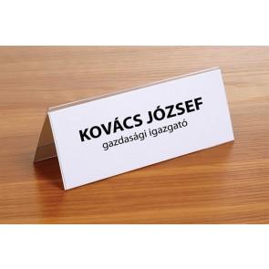 Ültetőkártya, 120x45 mm, FELLOWES