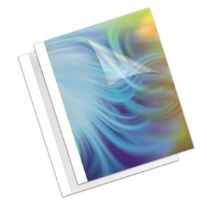 """Hőkötőborító, 3 mm, 170 g, 11-32 lap, matt, A4, FELLOWES """"Coverlight"""", fehér"""