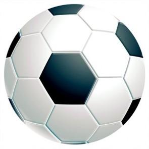 "Egéralátét, kör alakú, FELLOWES ""Brite™"", focilabda"