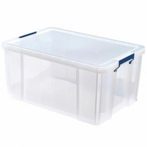 """Műanyag tároló doboz, átlátszó, 70 liter, FELLOWES, """"ProStore™"""""""