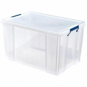 """Műanyag tároló doboz, átlátszó, 85 liter, FELLOWES, """"ProStore™"""""""