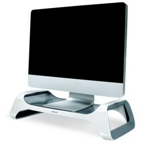 Monitorállvány, FELLOWES I-Spire Series™, fehér-grafitszürke