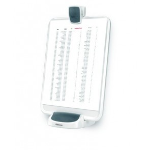 Irat- és tablet tartó, FELLOWES I-Spire Series™, fehér-grafitszürke