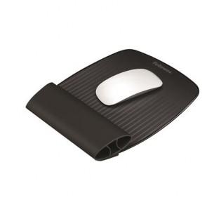 Egéralátét szilikonos csuklótámasszal, FELLOWES I-Spire Series™, fekete