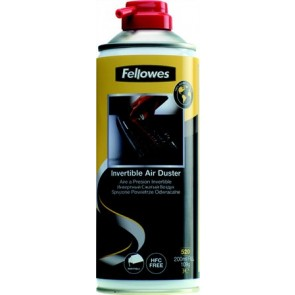 Sűrített levegős porpisztoly, forgatható, HFC mentes, gyúlékony, 520 ml/200 ml, FELLOWES
