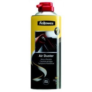 Sűrített levegős porpisztoly, HFC mentes, gyúlékony, 520 ml/350 ml, FELLOWES