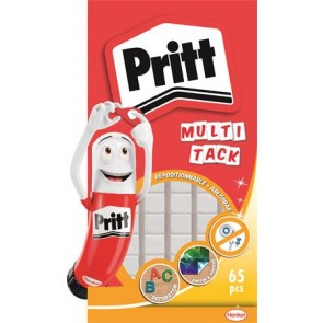"Gyurmaragasztó, 65 kocka/csomag, HENKEL ""Pritt Multi Tack"""