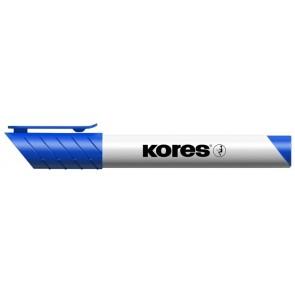 """Tábla- és flipchart marker, 1-3 mm, kúpos, KORES """"K-Marker"""", kék"""