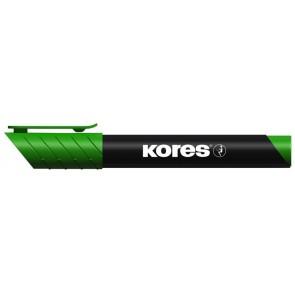 "Alkoholos marker, 3-5 mm, kúpos, KORES ""Marka"", zöld"