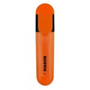 Szövegkiemelő, 0,5-5 mm, KORES, narancssárga
