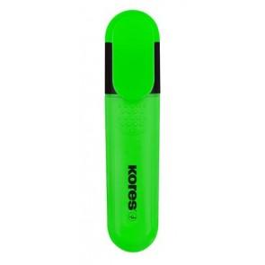 Szövegkiemelő, 0,5-5 mm, KORES, zöld