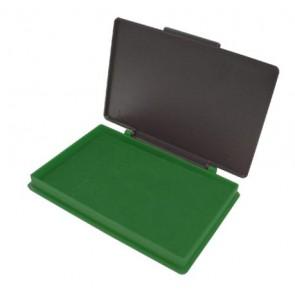 """Bélyegzőpárna, 110x70 mm, KORES """"Stampo"""", zöld"""