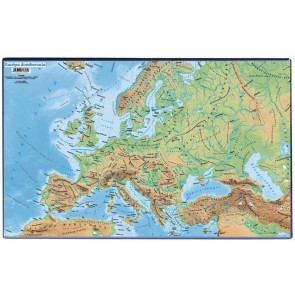 """Könyökalátét, VICTORIA """"Európa domborzata"""""""