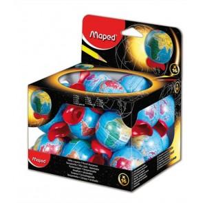 """Hegyező display, egylyukú, tartályos, MAPED """"Globe"""""""