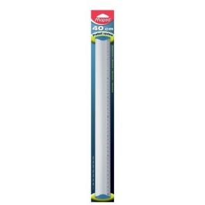 "Vonalzó, alumínium, 40 cm, MAPED ""Protect System"""