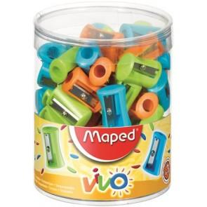 """Hegyező display, egylyukú, MAPED """"Vivo"""", vegyes színek"""
