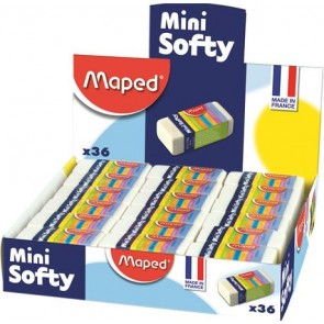 "Radír display, MAPED ""Mini Softy"""