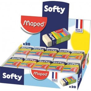 "Radír display, MAPED ""Softy"""