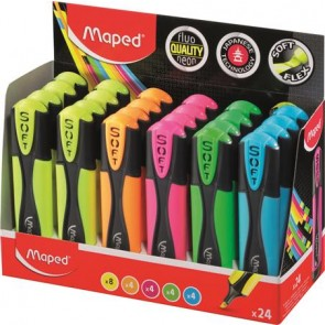 """Szövegkiemelő display, 1-5 mm, MAPED """"Ultra Soft"""", vegyes színek"""