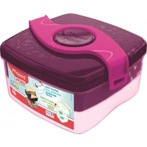 "Uzsonnás doboz, MAPED PICNIK  ""Origins"", pink"