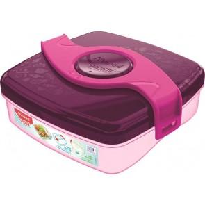 "Uzsonnás doboz, MAPED PICNIK  ""Origins Snack"", pink"