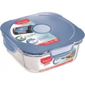 """Ételtartó doboz, üveg, MAPED PICNIK  """"Concept Adult"""", kék"""