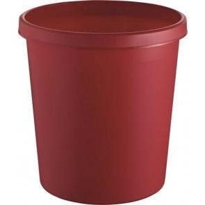 Papírkosár, 18 liter, HELIT, piros