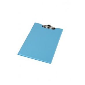 Felírótábla, fedeles, A4, sarokzsebbel, PANTAPLAST, pasztell kék