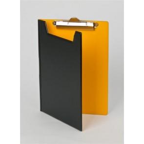Felírótábla, fedeles, A5, PANTAPLAST, fekete-sárga