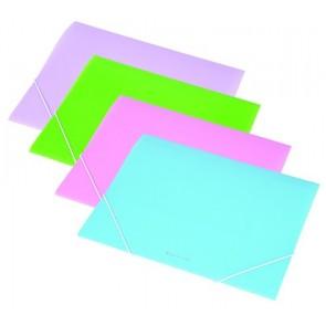Gumis mappa, 15 mm, PP, A4, PANTA PLAST, pasztell-lila