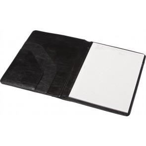Konferencia mappa, A4, műbőr, 2 oldalrekesz, PANTA PLAST, fekete
