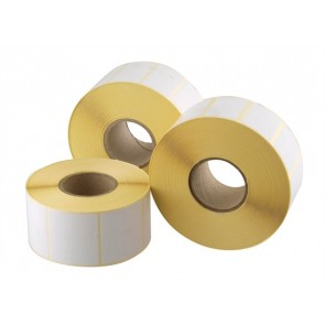 Etikett, thermo, 38x43 mm, 1000 etikett/tekercs
