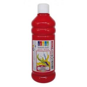 Tempera, 500 ml, Südor, piros