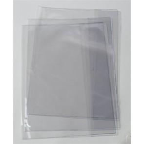 Spirálfüzetborító, A4, PVC, 90 mikronos, víztiszta, VICTORIA