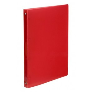 """Gyűrűs dosszié, 4 gyűrű, 25 mm, A4, PP, VIQUEL """"Propyglass"""", piros"""
