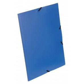 """Gumis mappa, 15 mm, PP, A4, VIQUEL """"Essentiel"""", kék"""