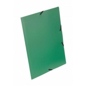 """Gumis mappa, 15 mm, PP, A4, VIQUEL """"Essentiel"""", zöld"""