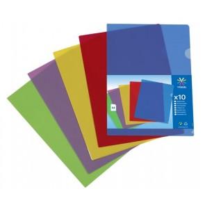 """Genotherm, """"L"""", A4, 130 mikron, VIQUEL """"Trend"""", vegyes színek"""