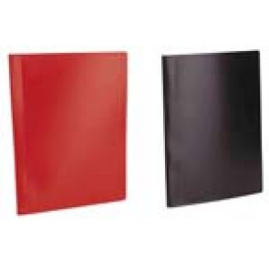 """Bemutatómappa, 40 zsebes, A4, VIQUEL """"Standard"""", piros"""