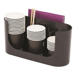 "Pohártartó, műanyag, ""Coffee break"", ALBA"