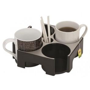 """Csészetartó, alumínium, """"Coffee break"""", ALBA"""
