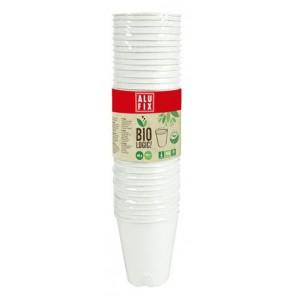 "Pohár, 260 ml, 40 db, ALUFIX, ""BioLogic"""