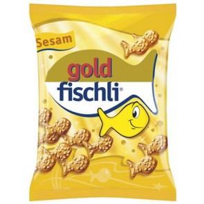 "Kréker, 100 g, CHIO ""Gold-Fischli"", szezámos"