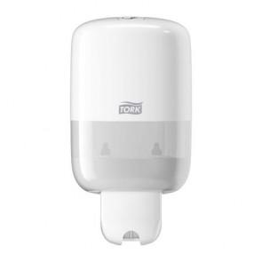 """Folyékony szappan adagoló, S2 rendszer, TORK """"Dispenser Soap Liquid Mini"""", fehér"""