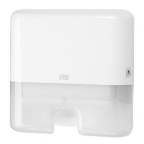 Kéztörlő adagoló, mini, H2 rendszer, TORK, fehér