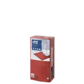 """Szalvéta, 1/4 hajtogatott, 2 rétegű, 23,8x24 cm, Advanced, TORK """"Cocktail"""", vörös"""